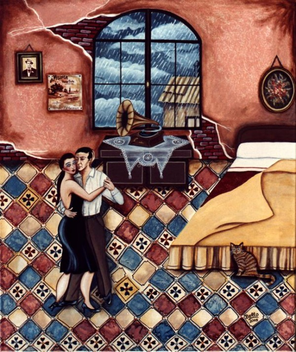"""Lluvia, romance y Tangos"""