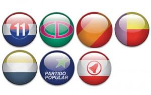 Emblemas - Partidos Políticos de Panamá