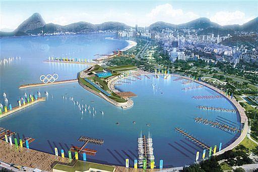 Recreación del proyecto olímpico de Río de Janeiro
