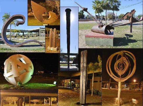 Bienal Internacional de Escultura 2010 e, Resistencia, Chaco, Argentina