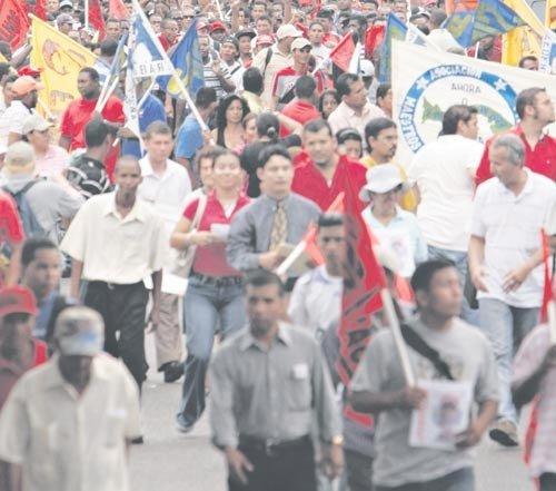 Marcha por la Dignidad y la Solidaridad Obrera