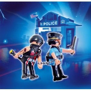 El ladrón policía