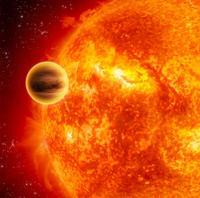 Descubren una estrella pulsante con un planeta gigante caliente