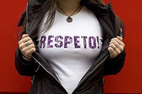 Voluntario social que respeta