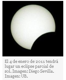La Universidad de Barcelona retransmitirá en directo el eclipse parcial de sol