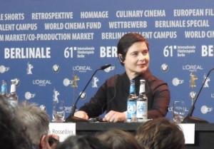 Isabella Rosellini inaugura la última edición de la Berlinale