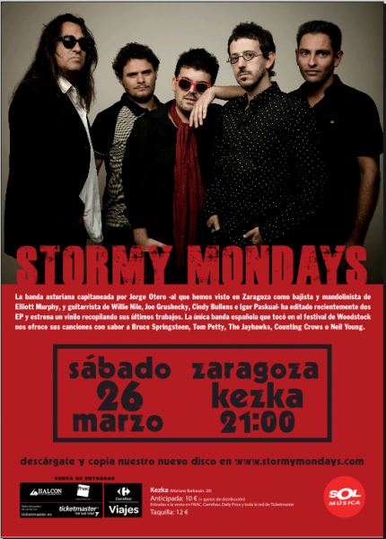 Stormy Mondays en Zaragoza