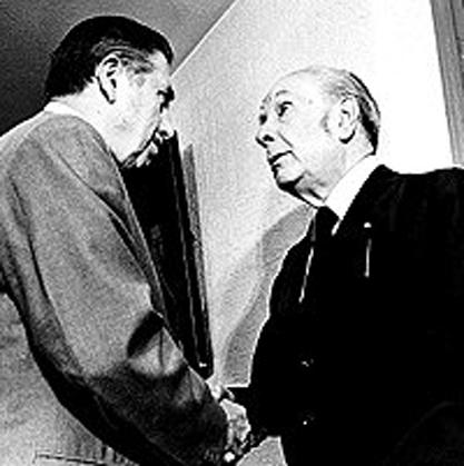 """Año Borges: """"Yo, me meo en Borges"""""""