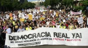Manifestacion indignados 15M
