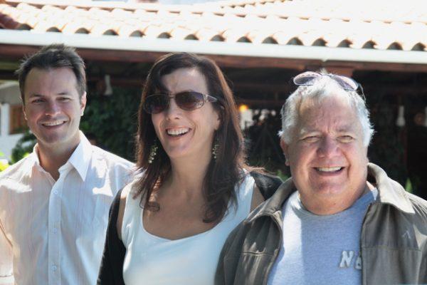 Maximiliano Gorriti (izquierda), Karina Gómez (centro) y César Bolívar (derecha). F/ Prensa Fundearc