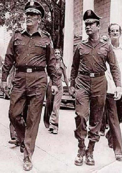 Omar Torrijos Herrera y Manuel Noriega Moreno