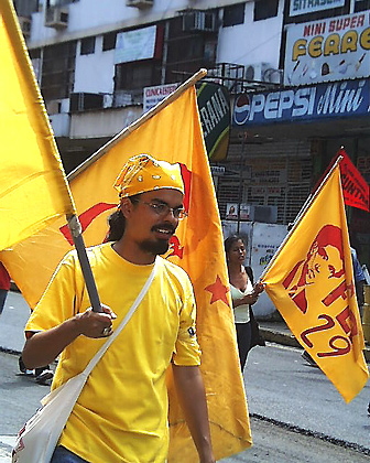 Marcha del 1 de Mayo de 2006 Día de los (as) Trabajadores (as).