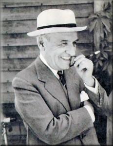 Ortega y Gasset en un fotografía tomada por la prensa en los años 20.
