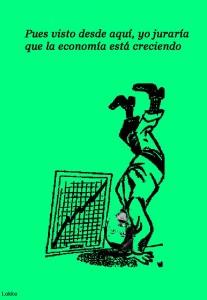 La economía está creciendo