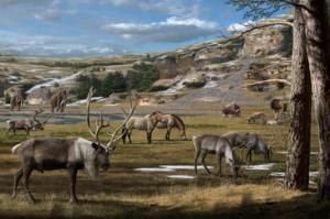 Corresponsables de la extinción de grandes mamíferos