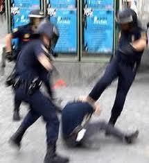 Policia en Valencia