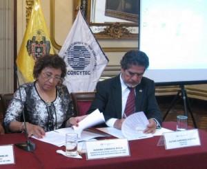 Municipalidad de Lima y el CONCYTEC firman acta