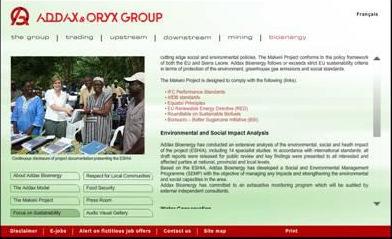addax group