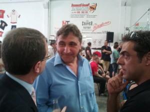 J.A. Visús (Director de Ilex Abogados), el humorista Javier Segarra y el montañero Carlos Pauner