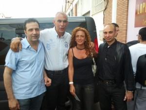 Alfonso de Campos, Andoni Cedrún, Conchi Corruchaga y Raúl Tristán