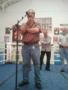 Sobre el ring, Perico Fernández