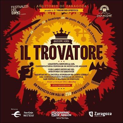 Il Trovatore, en el Auditorio de Zaragoza