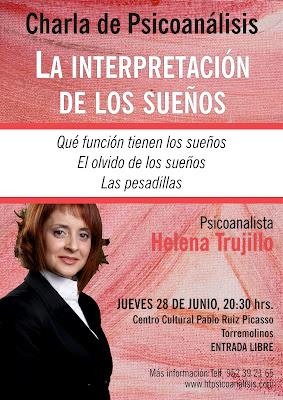 La interpretación de los sueños, charla en Torremolinos