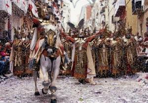 fiestas de moros y cristianos en Alicante