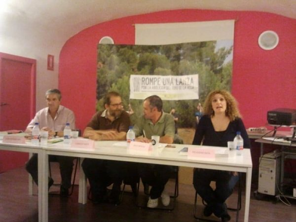 Palabras para un toro sin voz, en Zaragoza