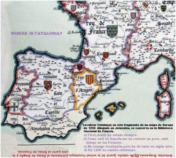 Cataluña el reino que nunca existió