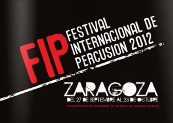 FESTIVAL INTERNACIONAL DE PERCUSIÓN 2012
