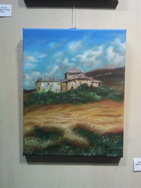 Inauguración Exposición de Pintura en Santa Isabel (Zaragoza)