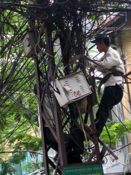 Operario en Hanoi