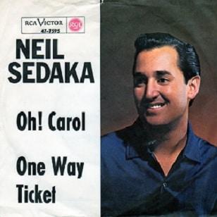 Oh! Carol, de Neil Sedaka