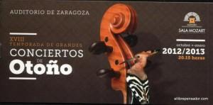 Solistas en el Auditorio de Zaragoza