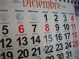 calendario puentes
