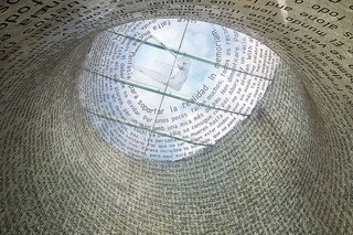 11-M Memorial. Atocha Station. Madrid, Spain.