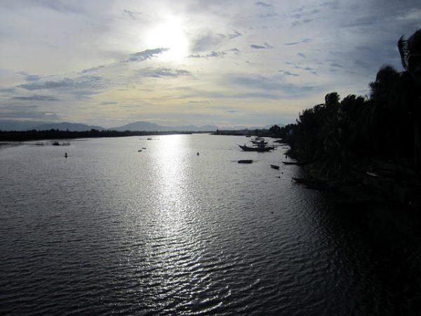 Vista río Thu Bon