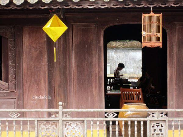 Dentro de la Ciudadela de Hue