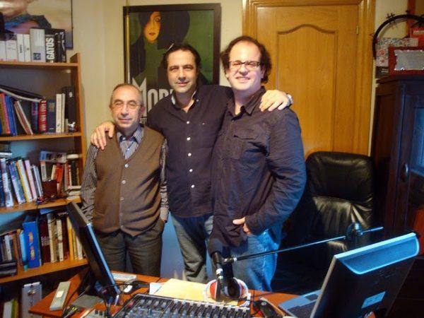 Fernando y Javier con Alfonso de Campos