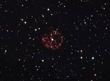 La estrella GK Persei. Imagen: Universidad de Arizona vía Wikipedia