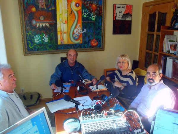 Mariano Ibeas, Maria Otal y Luis Trébol