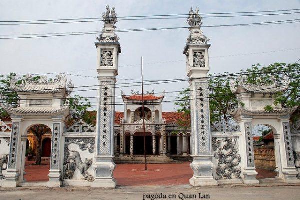 Pagoda en Quan Lan