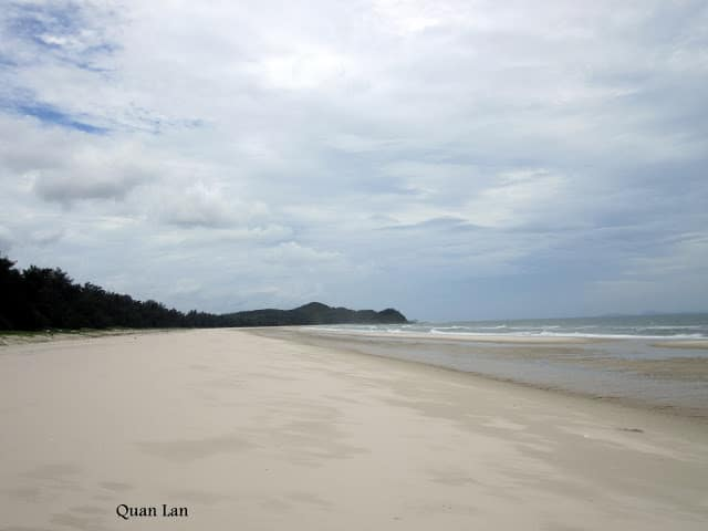Playa de Quan Lan