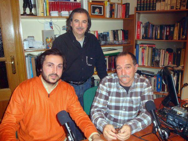 Sergio Artiaga, Rafael Castillejo y Jose A. Amate