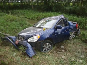 Vehículo accidentado, conducido por Carromero