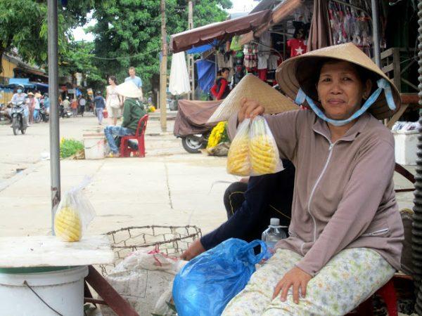 Vendedora en Hoi An