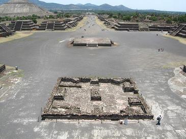 Los teotihuacanos exhumaban a sus muertos y los honraban con maquillaje