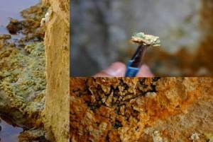 Escondites salinos bacterias río Tinto: como los de Marte