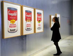 Sopa Campbell. Andy Warhol